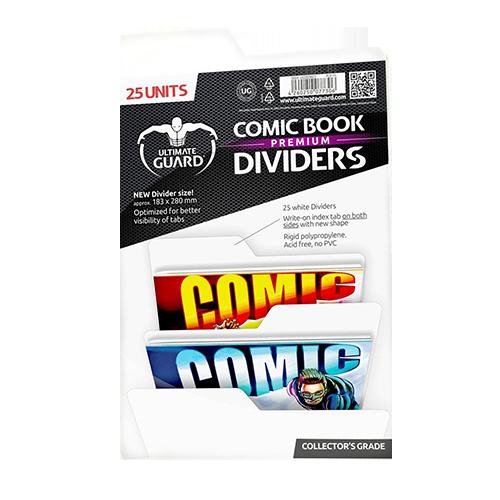 Ultimate Guard Premium Comic Book Dividers (25) Rosu