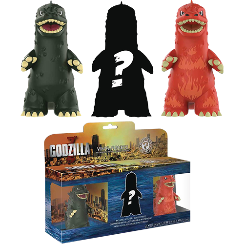 Mystery Mini Blind Box: Godzilla 3-Pack