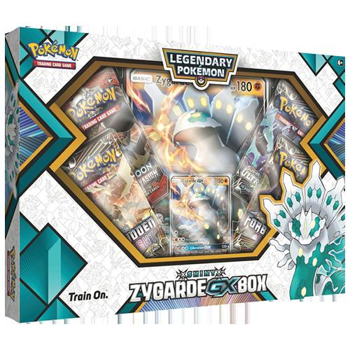 Pokemon Trading Card Game: Shiny Zygarde GX Box