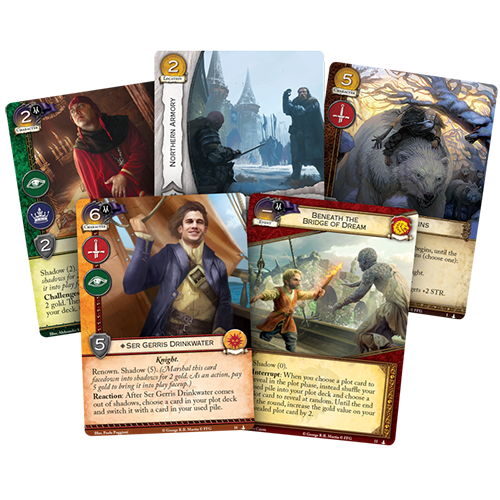 A Game of Thrones: The Card Game (editia a doua) – The Shadow City