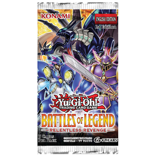 Yu-Gi-Oh!: Battles of Legend - Relentless Revenge Booster Pack imagine