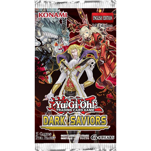 Yu-Gi-Oh!: Dark Saviors - Booster Pack imagine