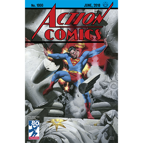 Action Comics 1000 Coperta A imagine