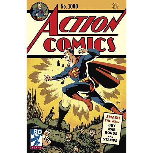 Action Comics 1000 Coperta F - 1