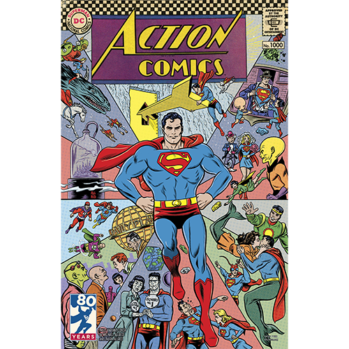 Action Comics 1000 Coperta F - 3
