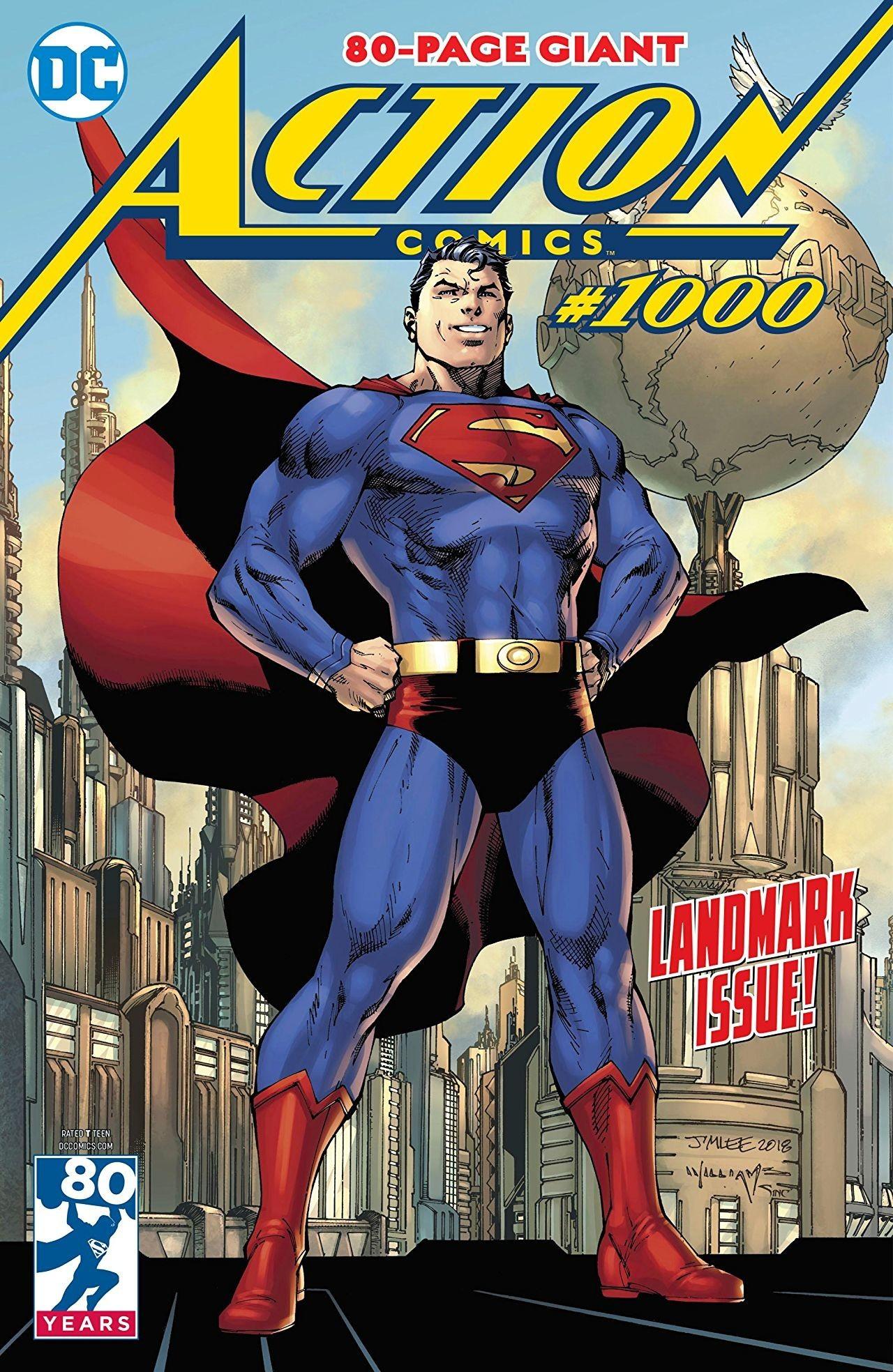 Action Comics 1000 Coperta F - 7