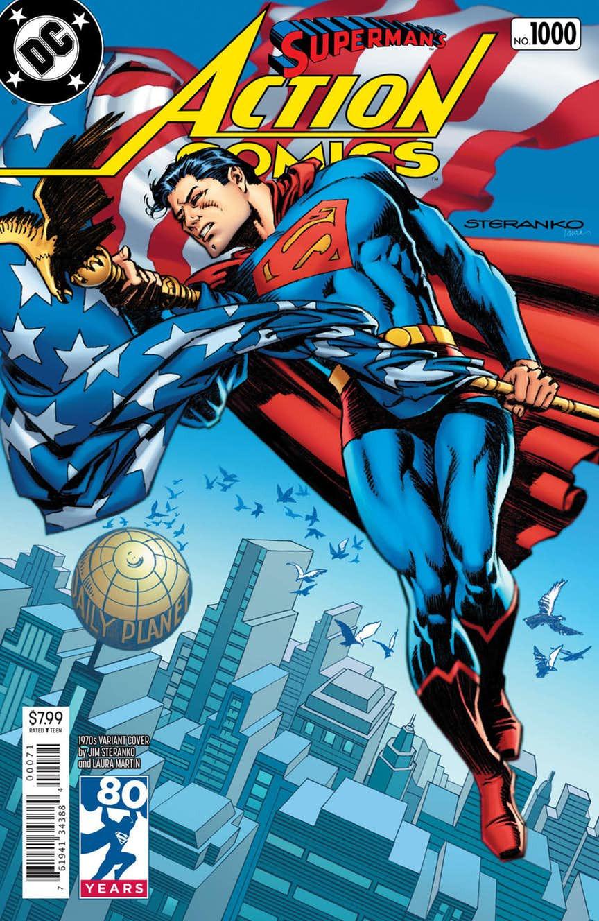 Action Comics 1000 Coperta F - 8