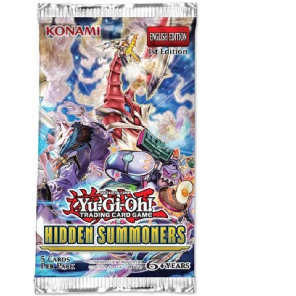 Yu-Gi-Oh!: Hidden Summoners - Booster Pack imagine