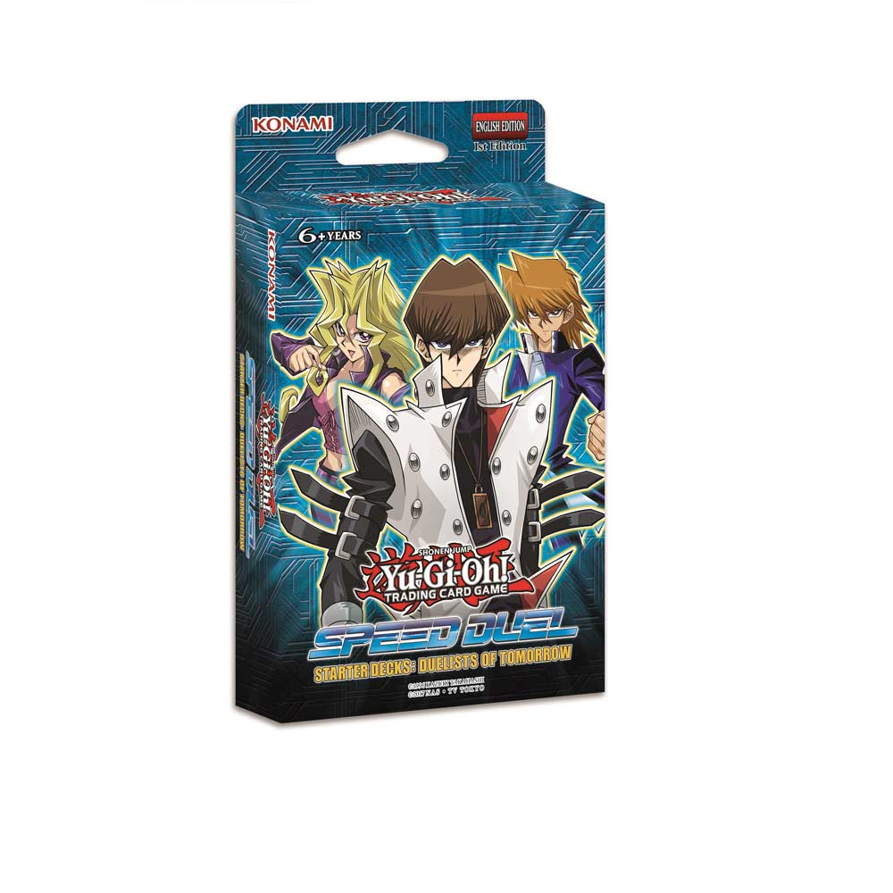 Yu-Gi-Oh!: Starter Deck Speed Duel: Duelists of Tomorrow imagine