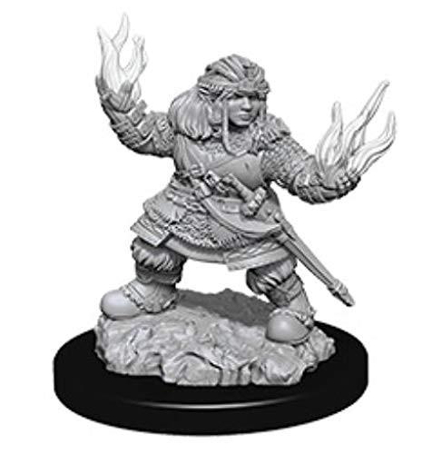 Pathfinder Unpainted Miniatures: Female Dwarf Summoner