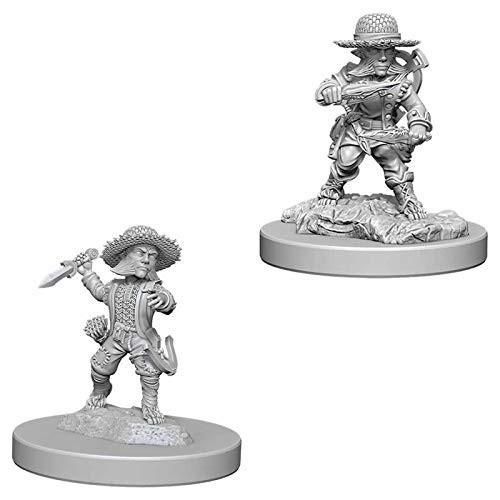 Pathfinder Unpainted Miniatures: Male Halfling Rogue