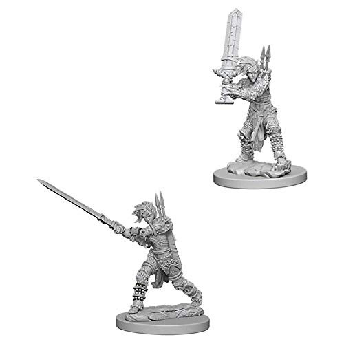 Pathfinder Unpainted Miniatures: Female Human Barbarian