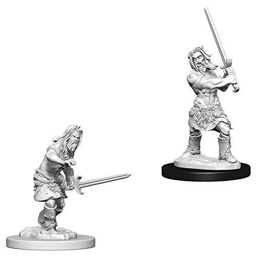 Pathfinder Unpainted Miniatures: Human Male Barbarian