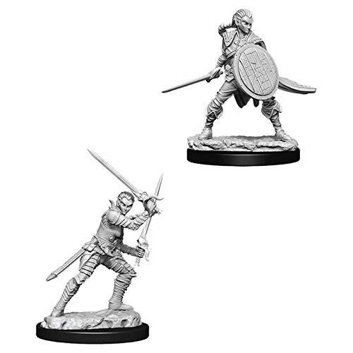 Pathfinder Unpainted Miniatures: Female Elf Fighter