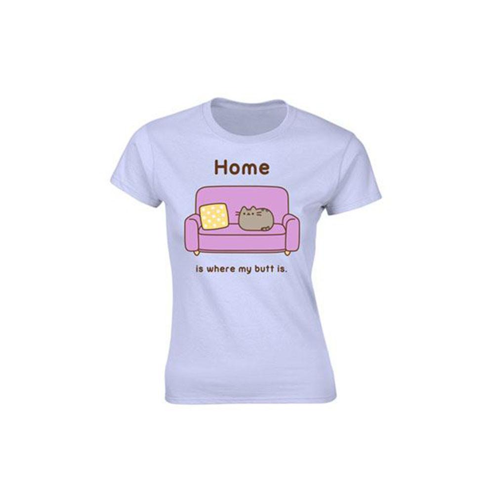 Tricou Pusheen - Home is where my butt is (Dama) XL