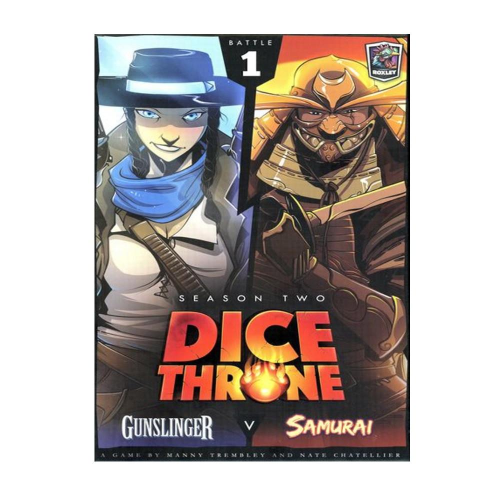 Dice Throne Season Two Box 1: Gunslinger vs Samurai
