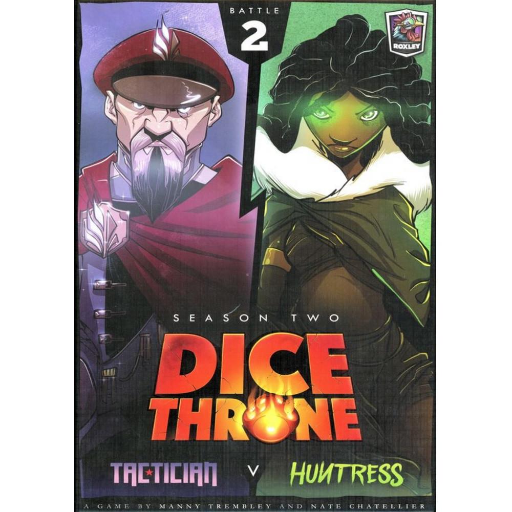 Dice Throne Season Two Box 2: Tactician vs Huntress