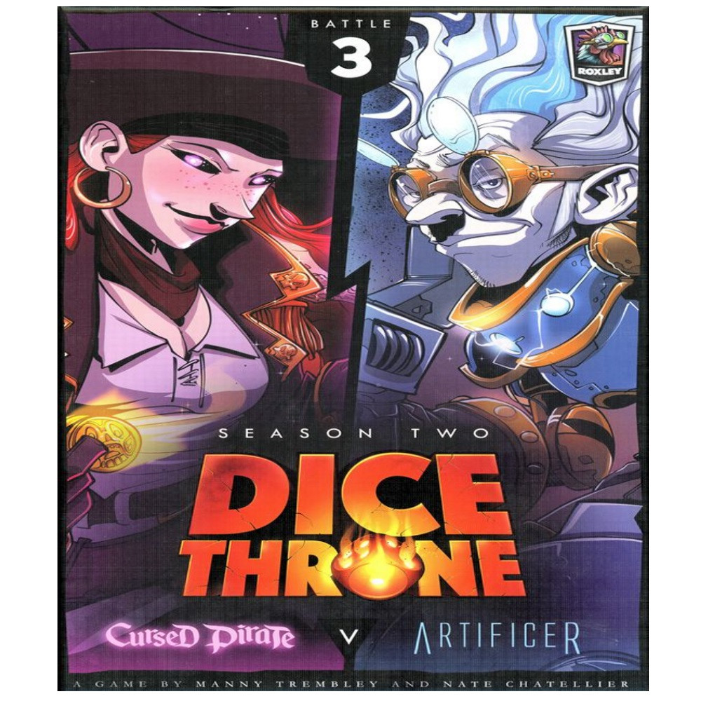 Dice Throne Season Two Box 1: Cursed Pirate vs. Artificer
