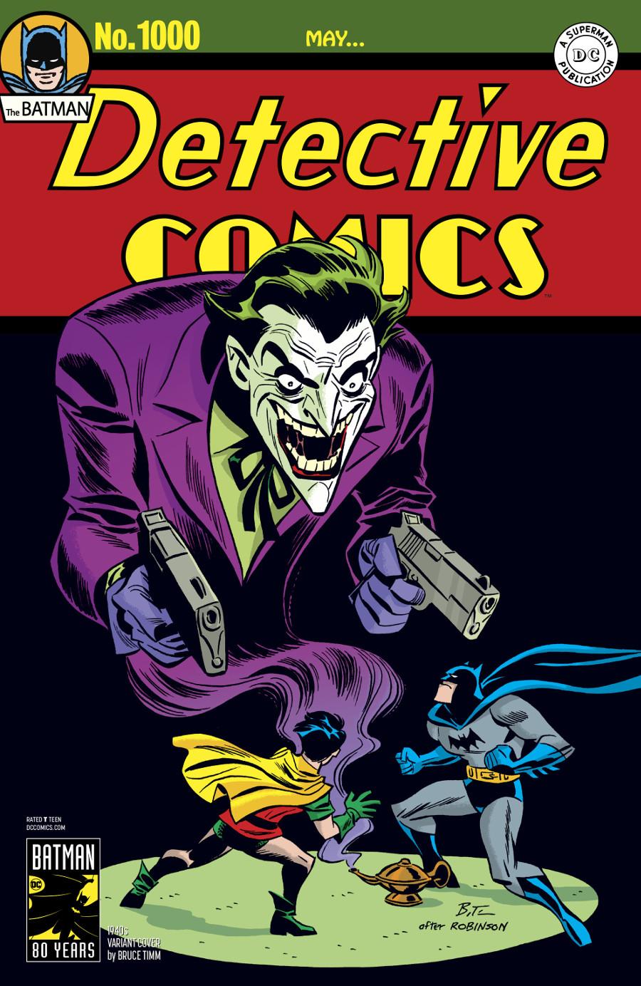 Detective Comics 1000 Coperta F - 1