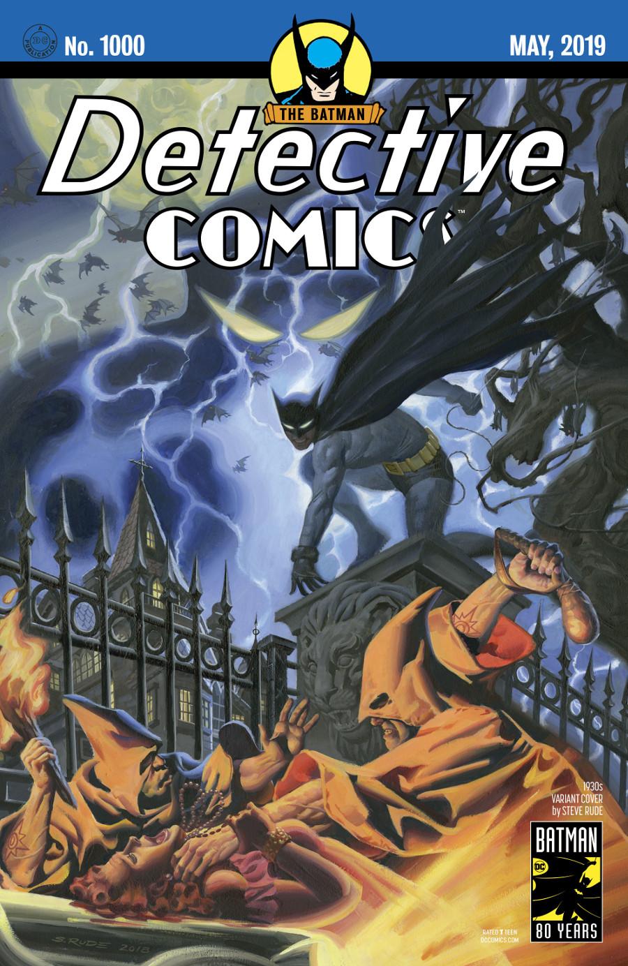 Detective Comics 1000 Coperta F - 2
