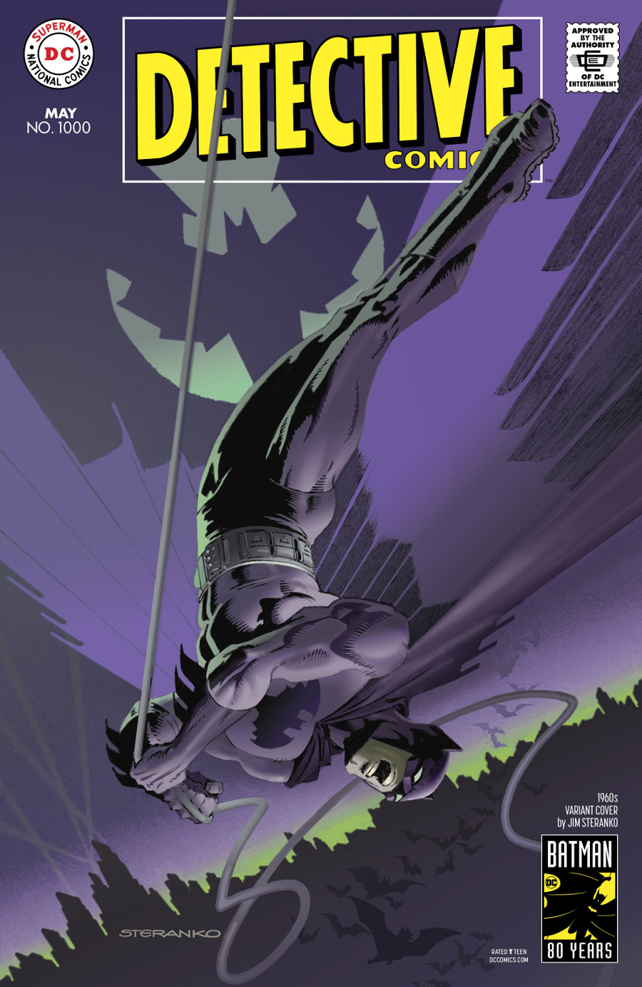 Detective Comics 1000 Coperta F - 4
