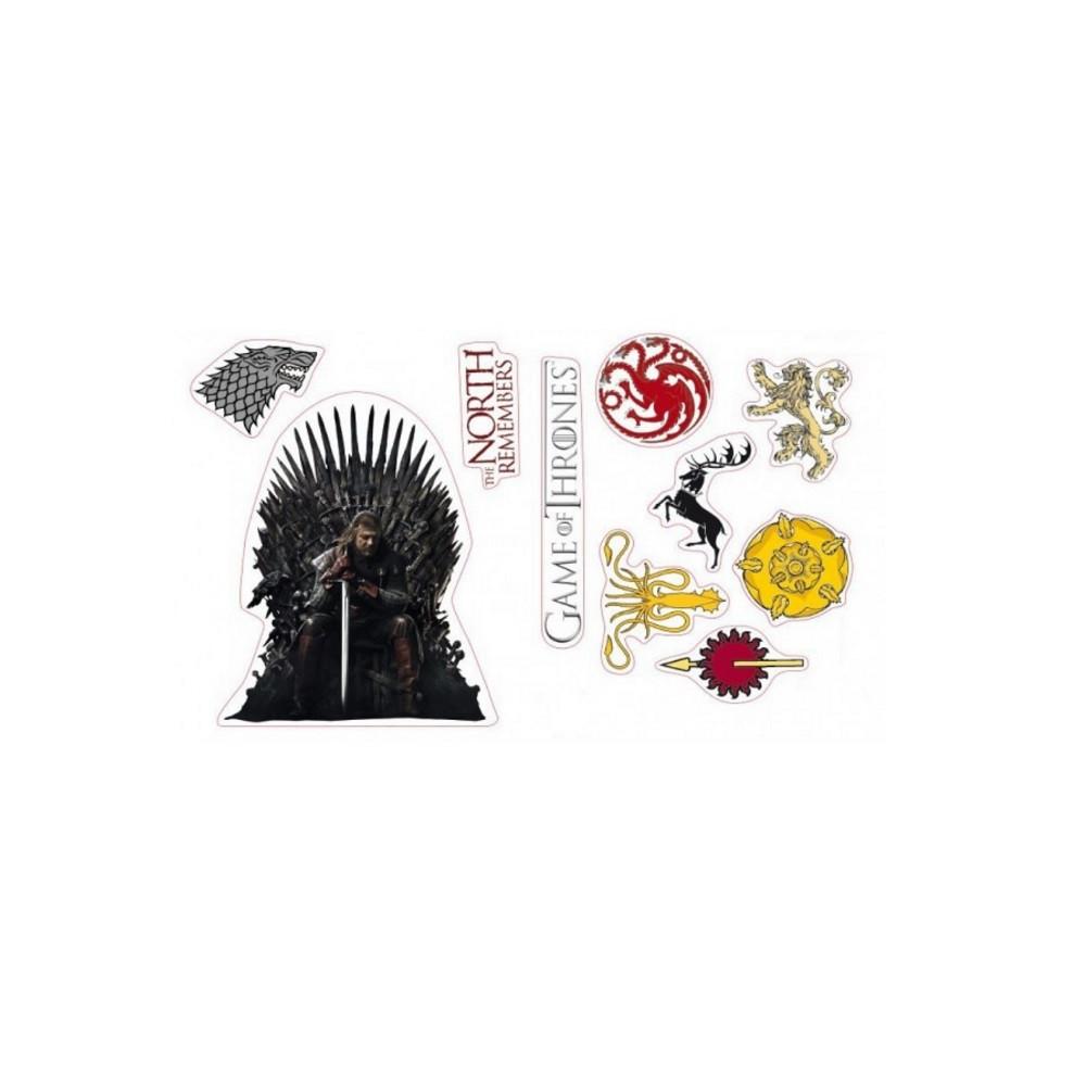 Game of Thrones - Stickers - Stark Sigils