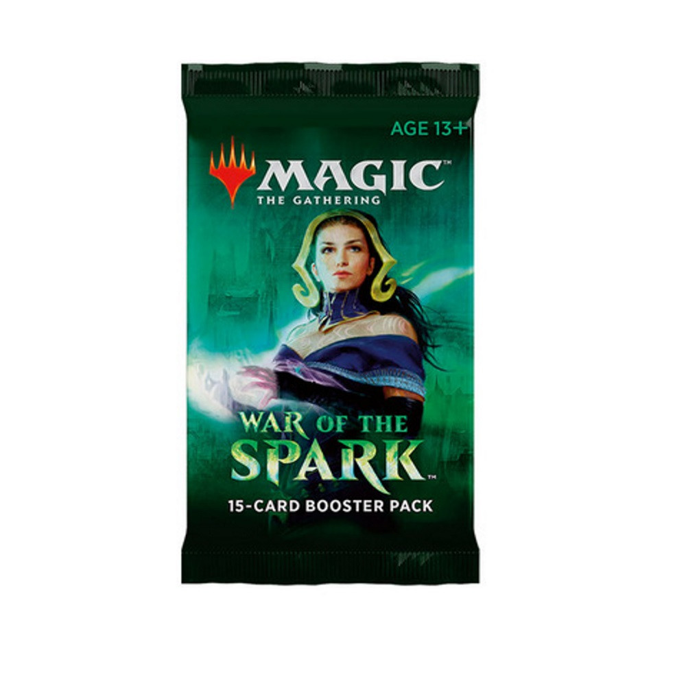Magic: the Gathering - War of the Spark Booster Pack imagine