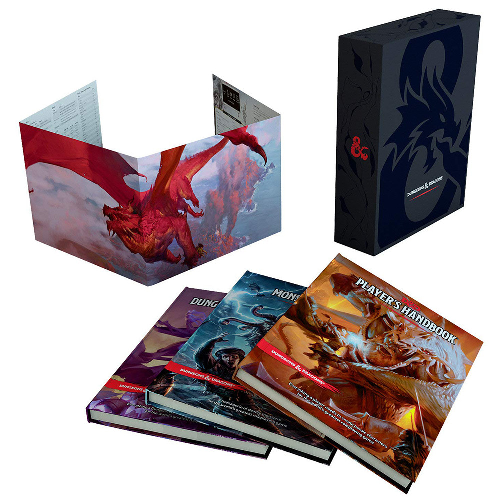 Set Cadou Dungeons & Dragons - Core Rulebook