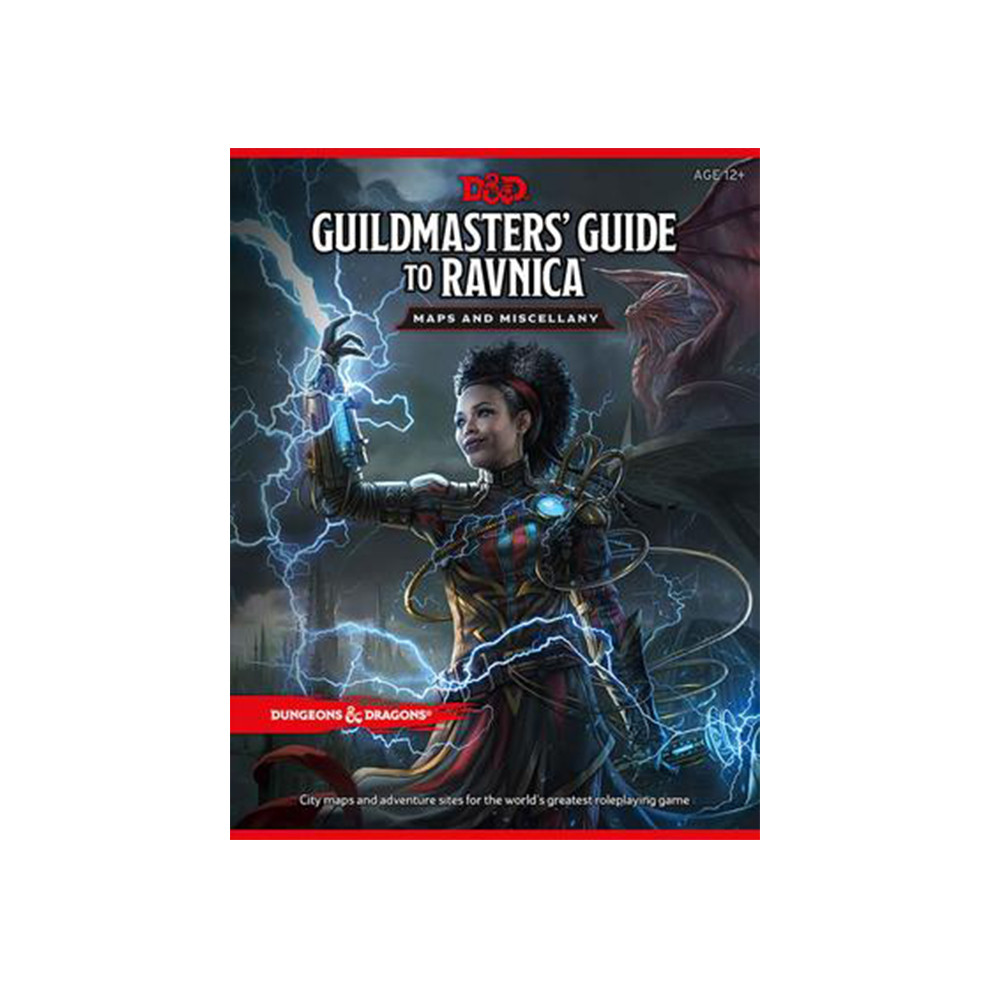 Set Piese si Harta Dungeons & Dragons: Guildmaster's Guide to Ravnica RPG