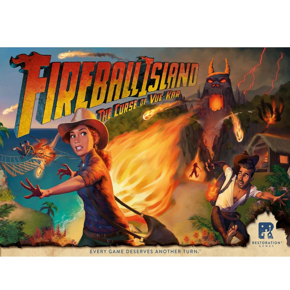 Joc Fireball Island - The Curse of Vul Kar (DETERIORAT)
