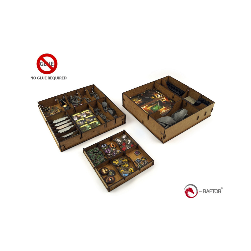 Organizator e-Raptor Box Insert Mansion of Madness
