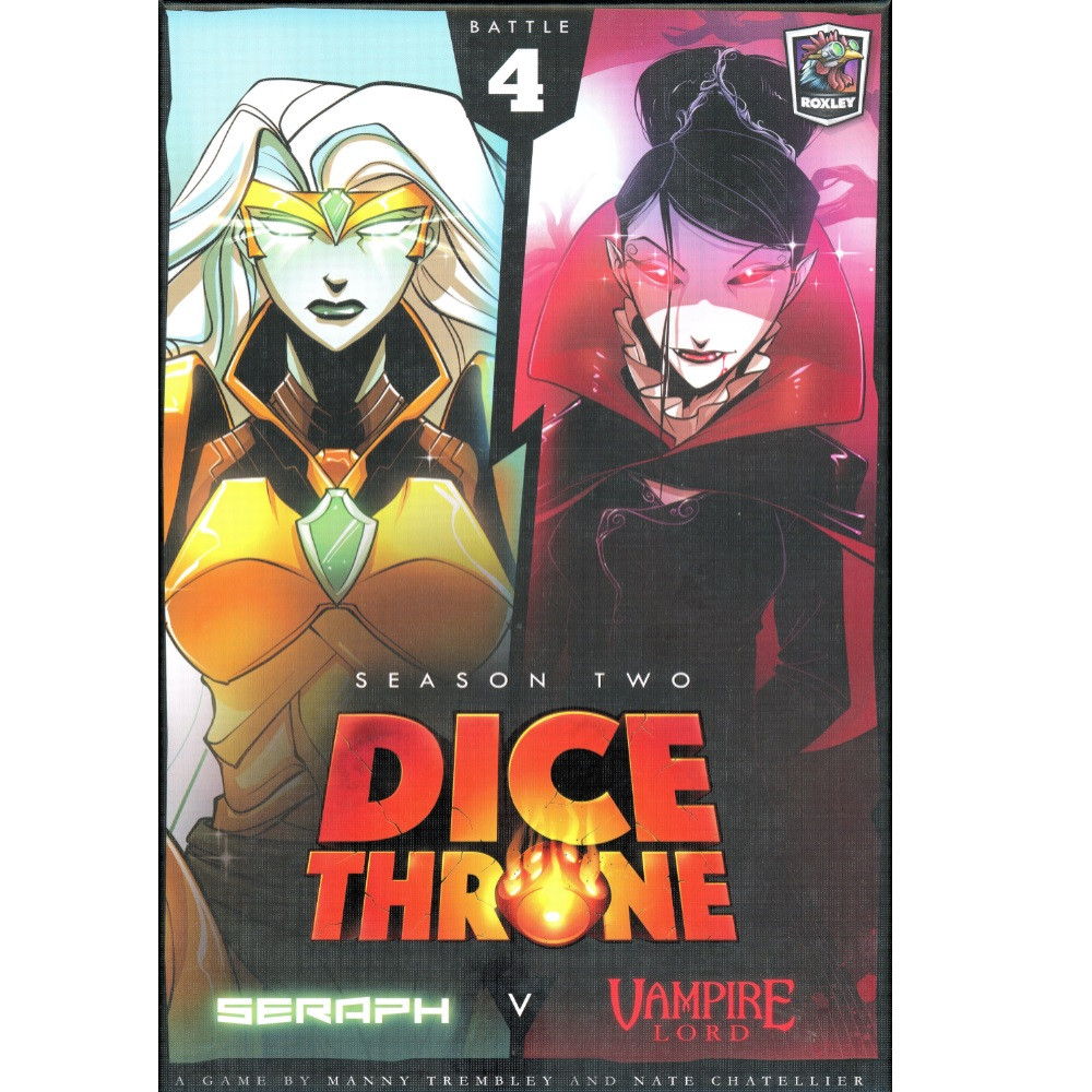 Joc Dice Throne Sezon 2 Box 4: Seraph vs. Vampire Lord