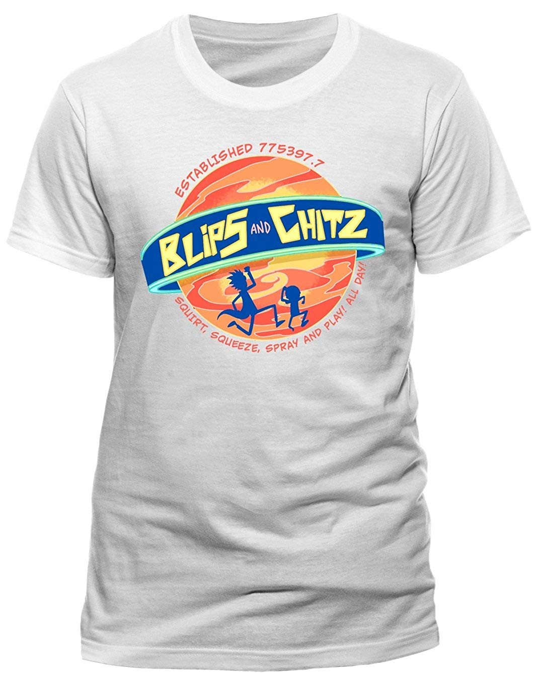 Tricou: Rick And Morty - Blips And Chitz L