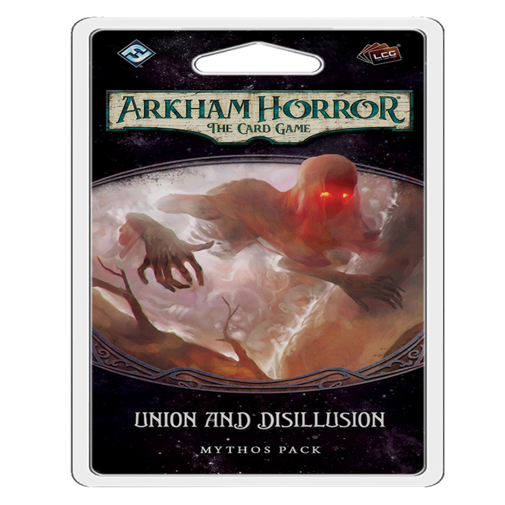 Expansiune Arkham Horror The Card Game Union and Disillusion Mythos Pack