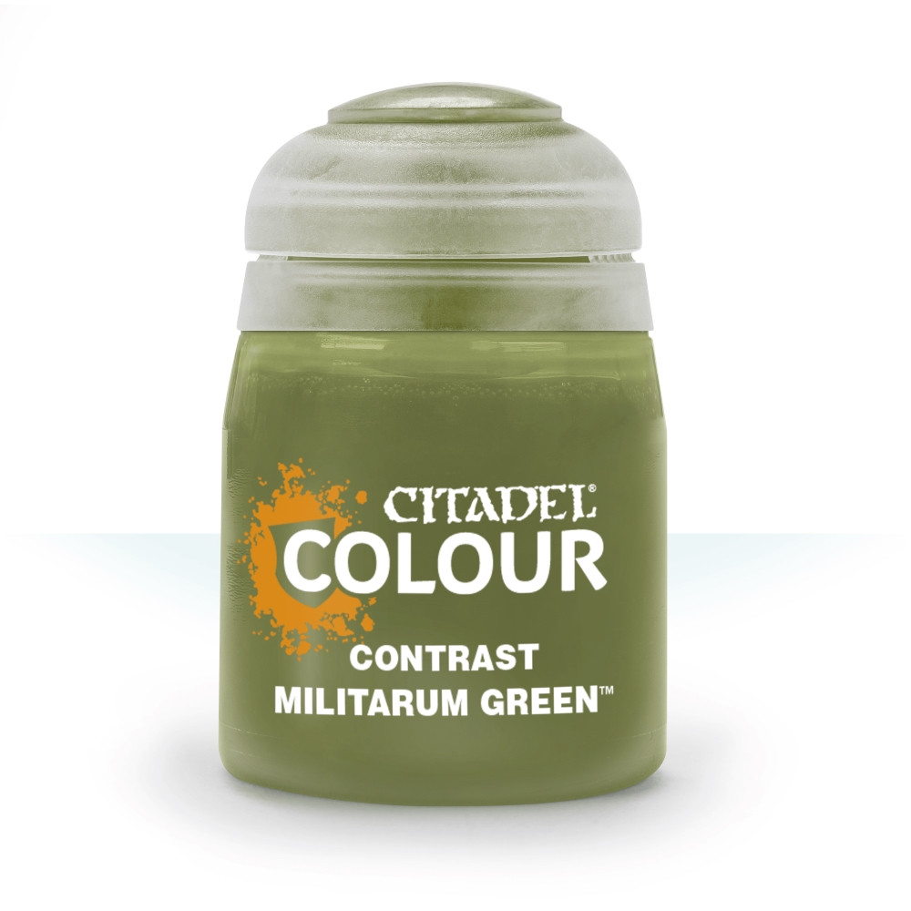 Warhammer: Contrast Paint - Militarum Green