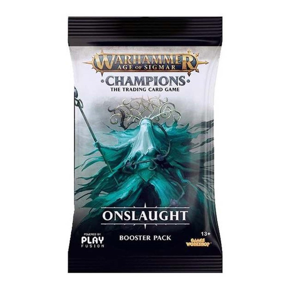 Pachet Booster Warhammer Age of Sigmar: Onslaught wave 2