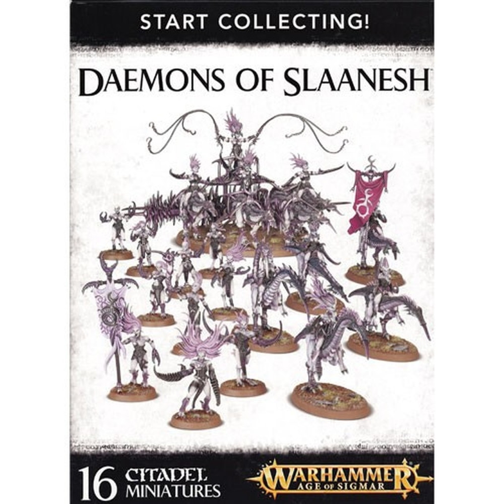 Expansiune Warhammer Start Collecting Daemons of Slaanesh