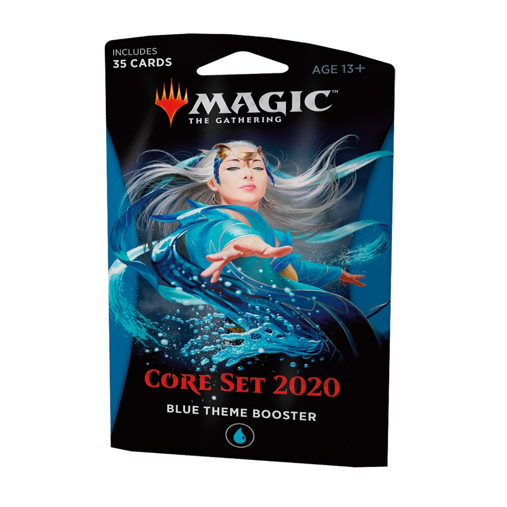 Pachet Magic: the Gathering - Core Set 2020 Theme Booster Albastru