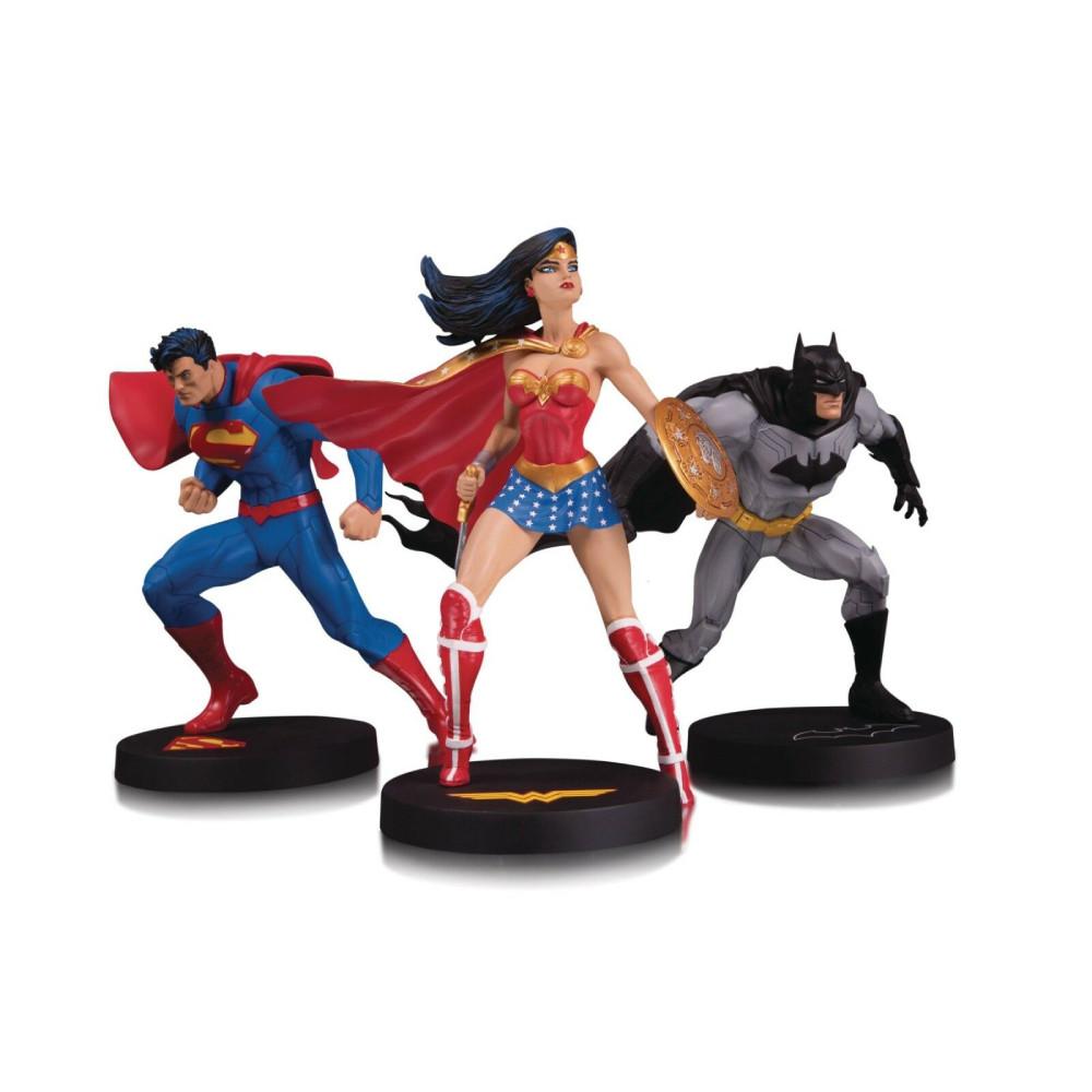 Figurina DC Designer Series Jim Lee Set de Colectie 3 statuete