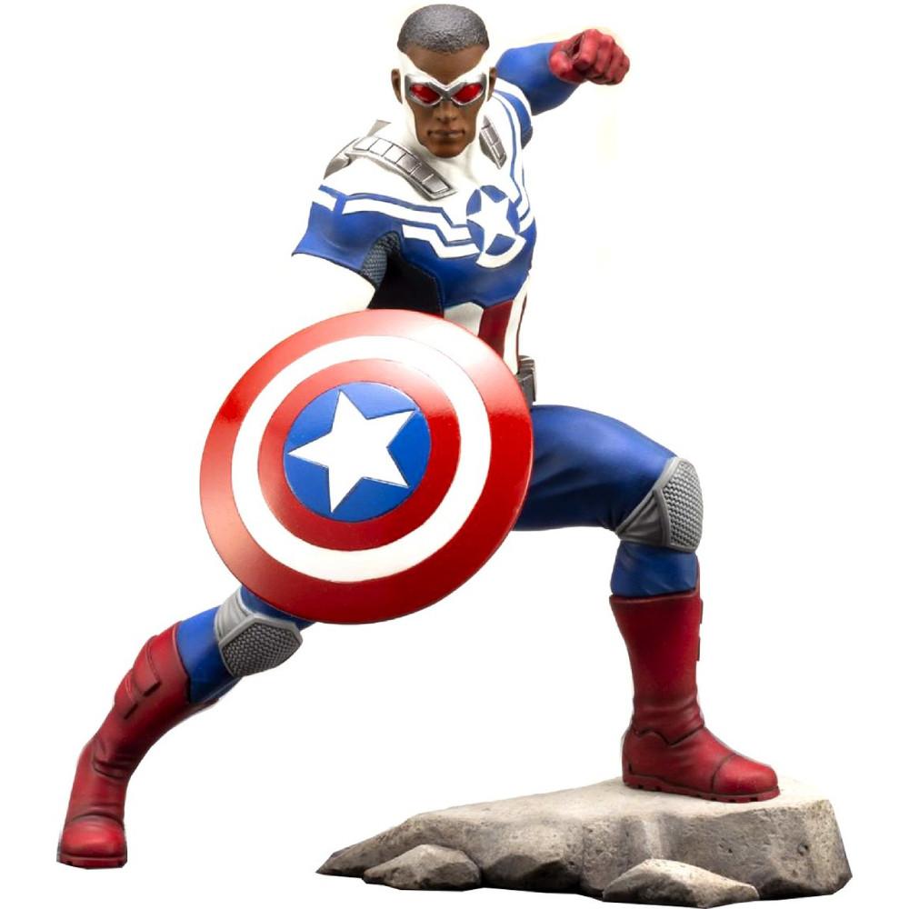 Figurina Marvel Captain America Sam Wilson Artfx+