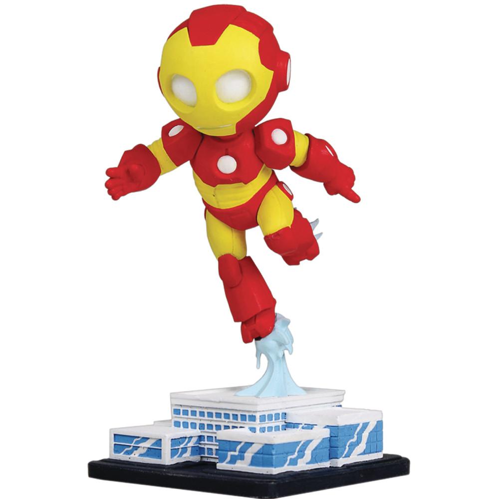Figurina Marvel Mini Heroes Animated Iron Man PVC