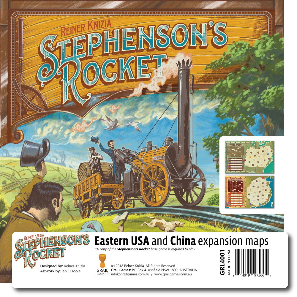 Expansiune Stephenson's Rocket: Eastern USA & China