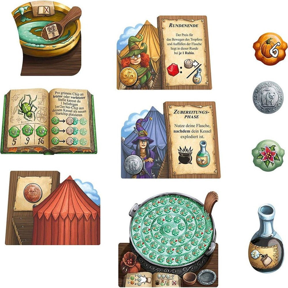 Expansiune The Quacks of Quedlinburg - The Herb Witches