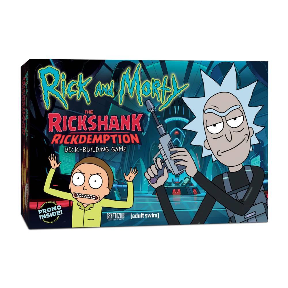 Expansiune Rick and Morty The Rickshank Rickdemption Deck Building Game