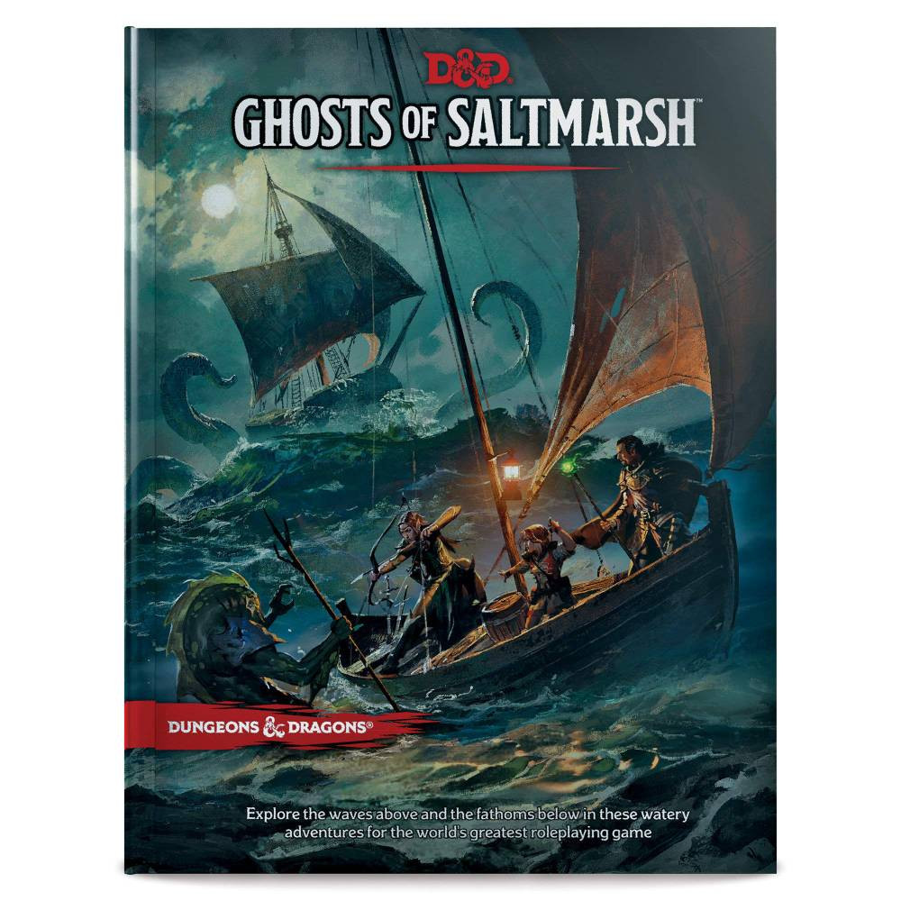 Joc Dungeons & Dragons RPG Ghosts of Saltmarsh