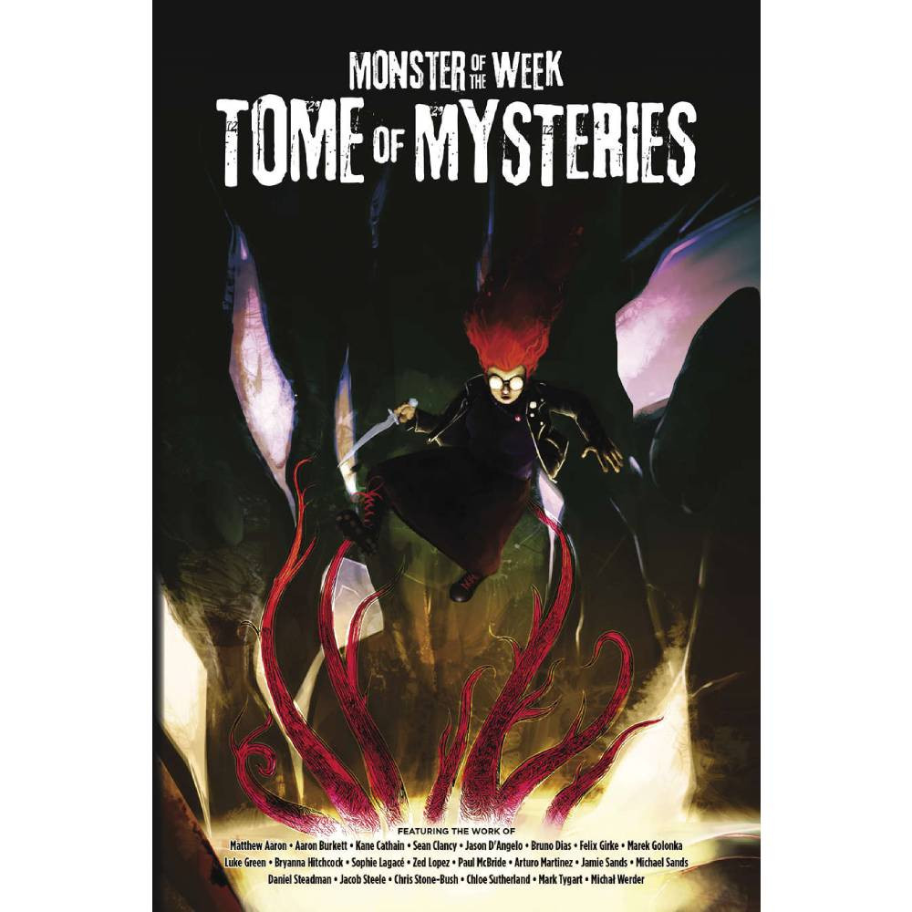 Expansiune Monster of the Week RPG Tome of Mysteries