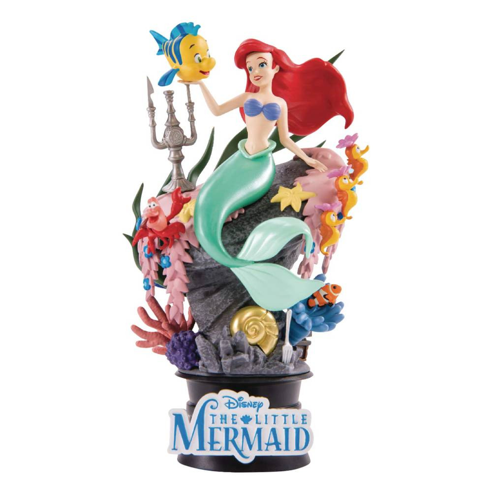 Figurina The Little Mermaid D-Select PVC Diorama 15 cm