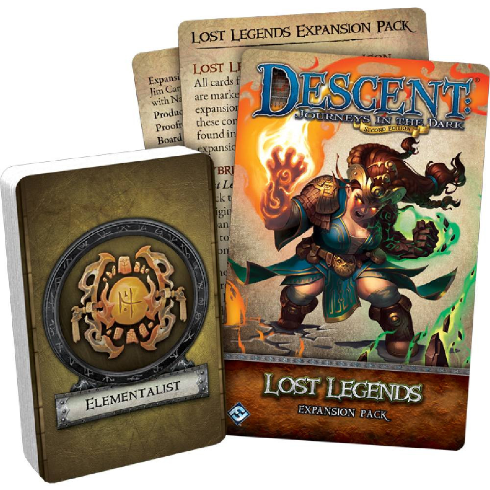 Expansiune Descent: Journeys in the Dark (ediţia a doua) Lost Legends