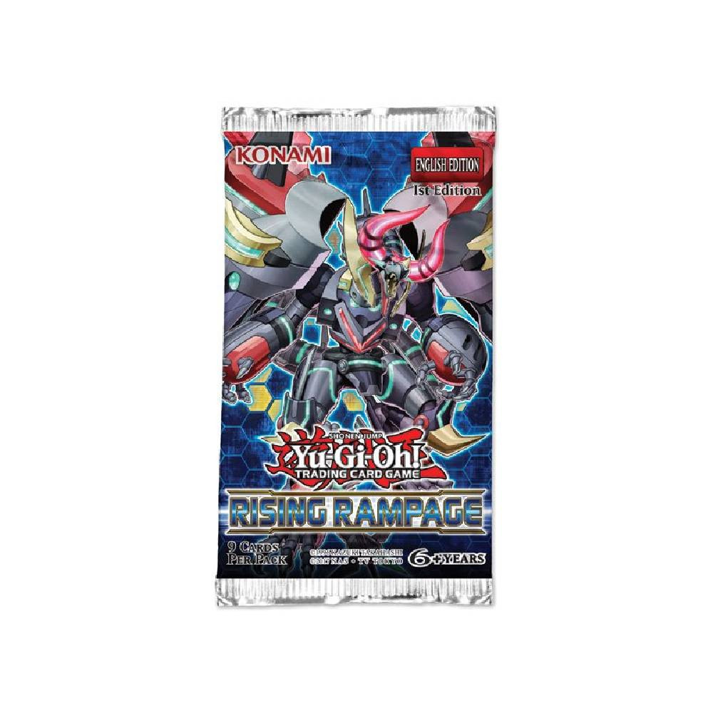 Pachet Booster Yu-Gi-Oh! Rising Rampage