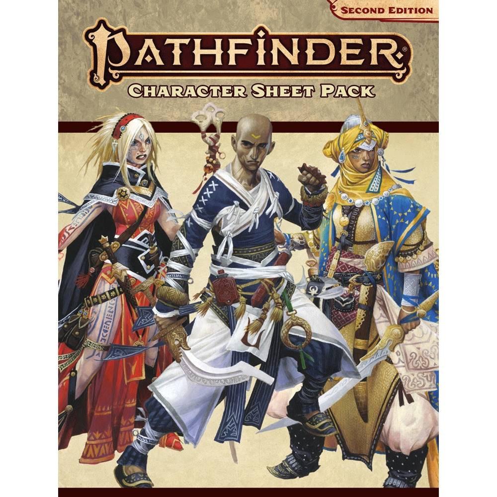 Pachet Foi de Caracter Pathfinder RPG Editia a Doua